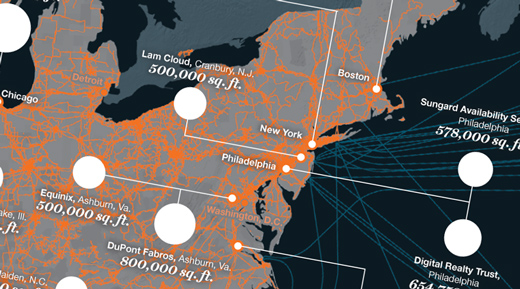 MAPPING THE U.S. DATA CENTERS