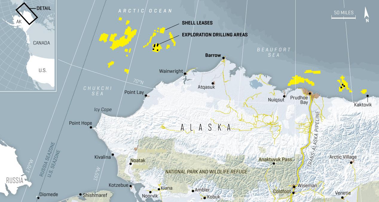 ALASKA DRILLING MAP
